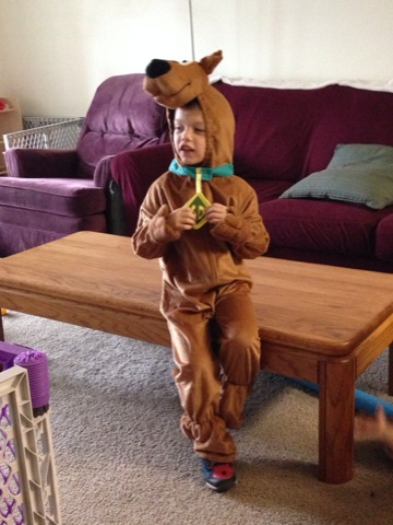 Scooby Doo for Halloween!